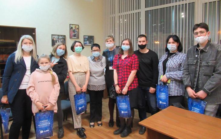 Гости Тамбовской «Библионочи» совершили виртуальное путешествие с «Гарантом» на Луну