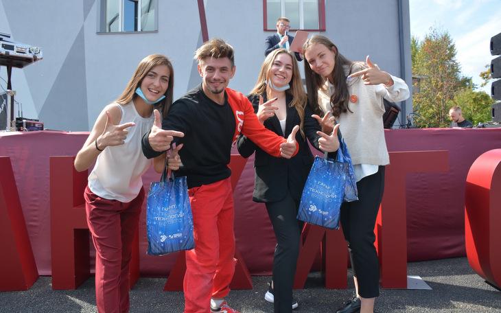 Компания «Гарант»поздравила первокурсников Алтайского филиала РАНХиГС