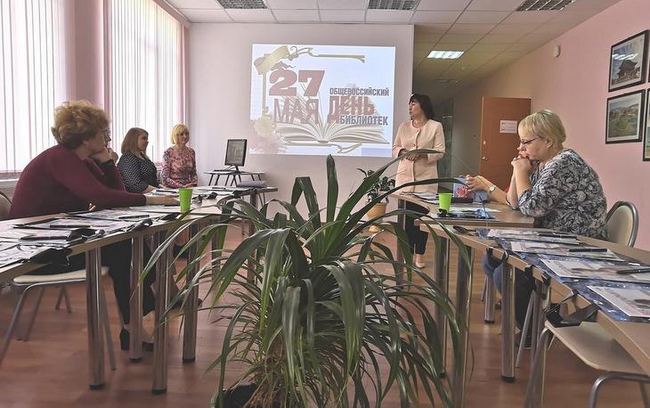В библиотеке Нижегородского губернского колледжа прошел семинар бля библиотекарей города