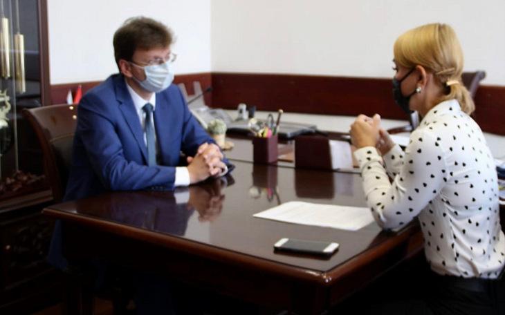 Интернет-интервью с министром образования Оренбургской области Пахомовым Алексеем Александровичем