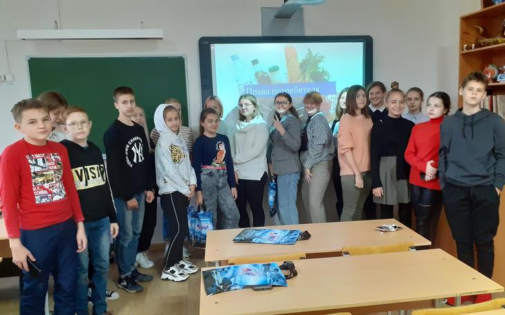 В Челябинской «Детской Художественной школе искусств» прошла лекция и викторина на тему защиты прав потребителя