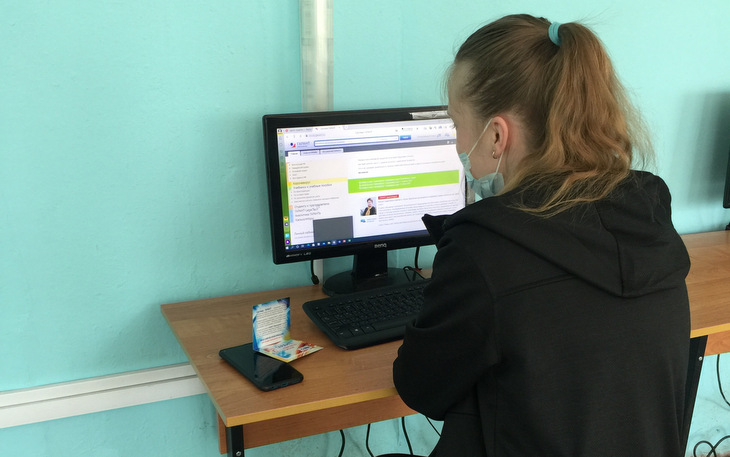 Студенты Ржевского колледжа прошли обучение работе с системой ГАРАНТ